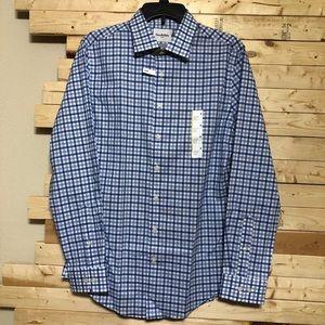 NWT Goodilow & Co. Slimfits Mens Button Up Shirt